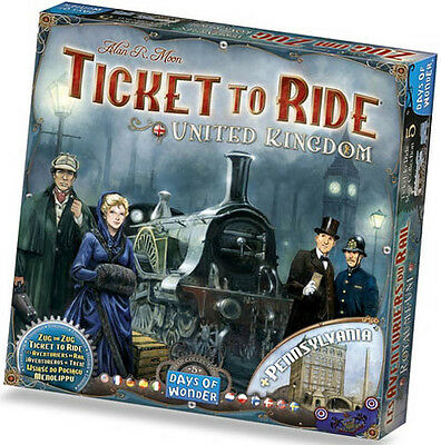 Ticket to Ride Map Collection Volume 5 : United Kingdom