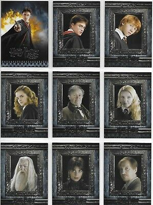 Harry Potter and the Half-Blood Prince (1-90) & Update (91-180) Base Card Set