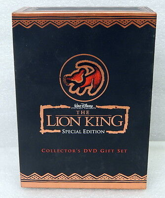 Walt Disney's The Lion King Special Edition Collector's DVD Gift Set
