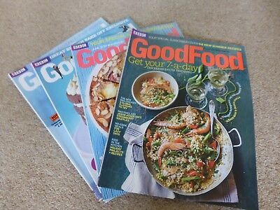 40 BBC GOOD FOOD Magazines *Never Read* 2014 2015 2016 2017 2018 25p a copy
