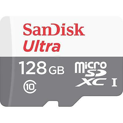 SanDisk Ultra 128GB Micro SD Memory Card Class 10 SDXC 80MBs No Adapter UHS-I