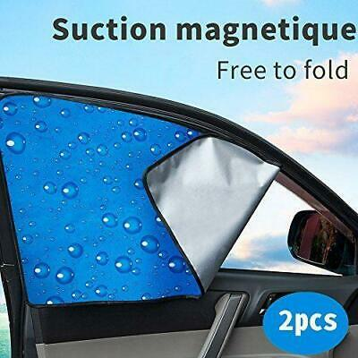 Car Front Side Window Car Sun Shade Auto Windshield Sunshades Universal  2 Pack