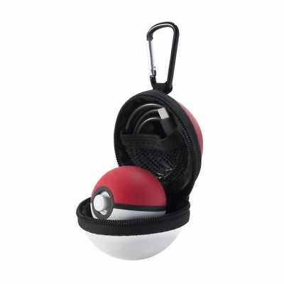 For Nintendo Switch Poke Ball Plus Controller Carry Case EVA Travel Storage Bag