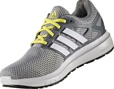 229e9fd6a Men s Adidas Energy Cloud WTC M Running Shoes Grey   Yellow White Sz 8.5  BB3151