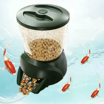 New 4.25L LCD Large Automatic Timer Tank Pond Aquarium Fish Food Feeder Feed
