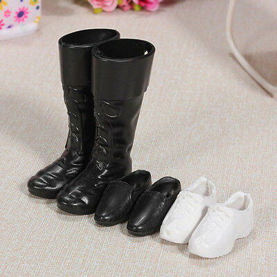 Fashion Handmade Cusp Shoes  Boots Sneakers Set for Ken Doll Kids New