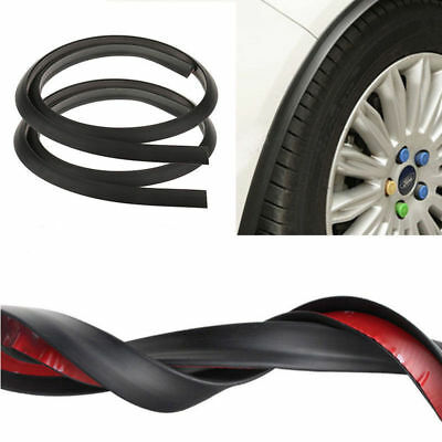 2Pcs Car Fender Flare Extension Wheel Eyebrow Moulding Trim Wheel Arch Strip