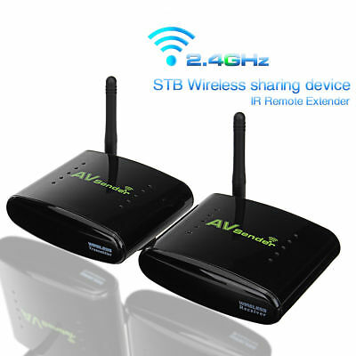 2.4GHz 350M AV TV Wireless Trasmettitore + Ricevitore Signal Sender Audio Video