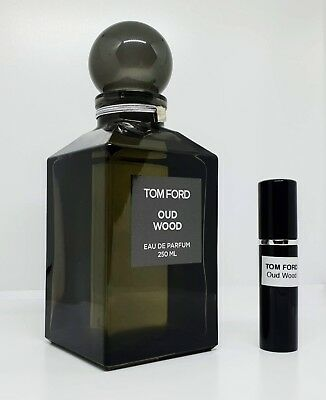 Tom Ford - Oud Wood - 5ml SAMPLE Glass Atomizer