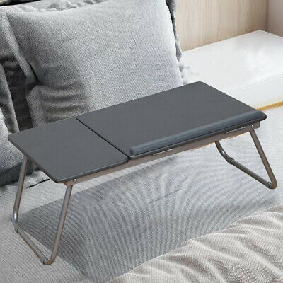 Laptop Table Stand Folding Desk Bed Computer Study Adjustable Portable Tray