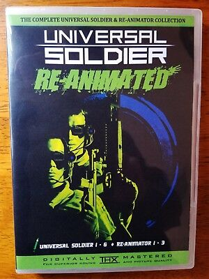 The Complete Universal Soldier (1-6) & Re-Animator (1-3) Bluray Collection