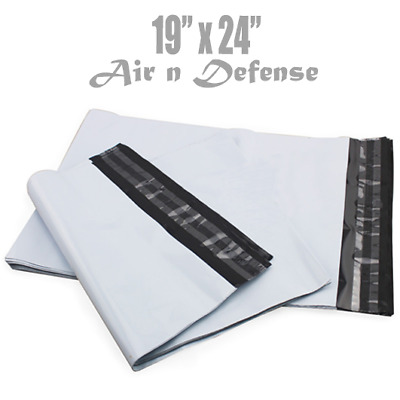 19 X 24 Poly Mailers Envelopes Plastic Shipping Bags 2.5 MIL AirnDefense