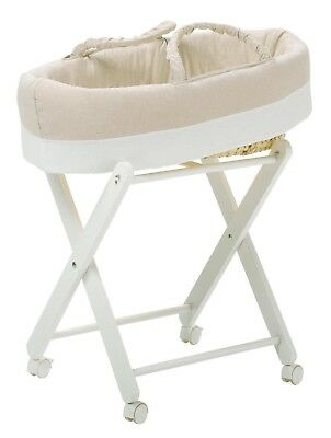 Hugs Factory Moses Basket with stand