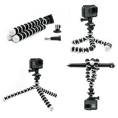 Octopus Flexible Tripod Mount Stand for Victure Kitvision Action Camera