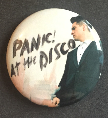 "PANIC! AT THE DISCO BUTTON BADGE  American Rock Band - Pretty Odd 25MM 1""INCH"