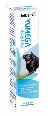 Lintbells YuMEGA Itchy Dog Supplement for dogs with itchy or sensitive skin...