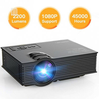 APEMAN Updated Version LED Video Projector Portable Mini LCD Multimedia...