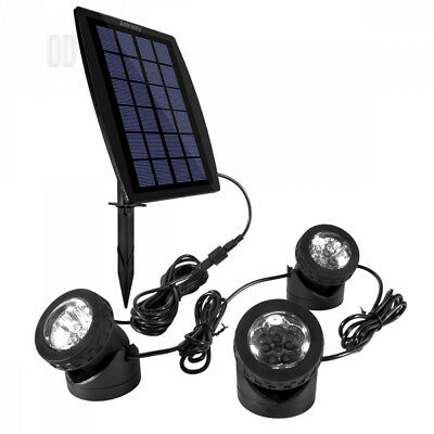 Solar Pond Lights, Ankway IP68 Waterproof Submersible Spotlight for Fountain...