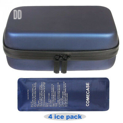 Comecase Waterproof Insulin Cooler Travel Case/Medical Cooling Bag/Diabetic...