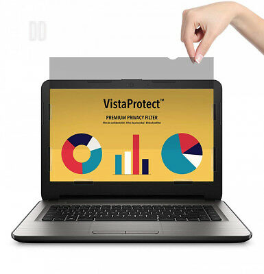 VistaProtect - Premium Privacy Screen Filter & Protector for Laptop...