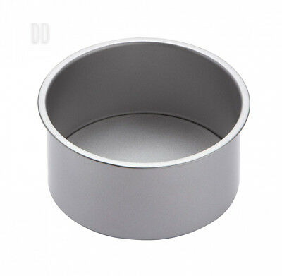 "KitchenCraft Non-Stick Round Deep Cake Tin with Loose Base, 18 cm (7"")"