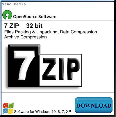 WINZIP, ZIP UNZIP RAR, 7ZIP, Files Packing, Software for Unpacking,  Extracting