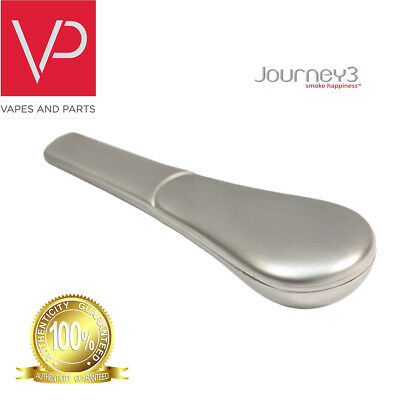 AUTHENTIC! Journey3 Pipe - Soft Silver With Plastic Case