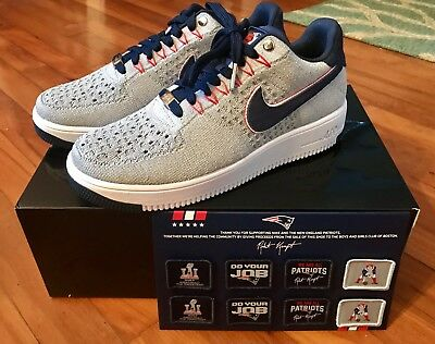 NIKE AIR FORCE 1 Ultra Low Flyknit RKK New England Patriots