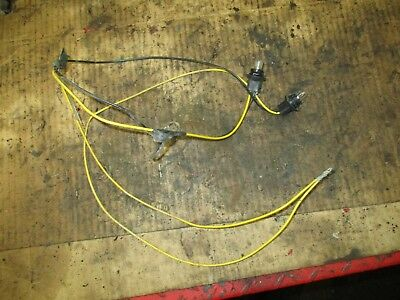 JOHN DEERE 214 314 317 Lawn & Garden Tractor Taillight Wiring ... on john deere 314 fuel pump, john deere 314 ignition coil, john deere 314 engine, mtd wiring harness, john deere 314 carburetor, john deere 314 transmission, john deere 314 oil filter, cub cadet wiring harness, john deere 314 drive shaft, wheel horse 314 wiring harness, case 446 wiring harness, gravely wiring harness, john deere 314 ignition system, john deere 314 manual, john deere 314 fuel tank,