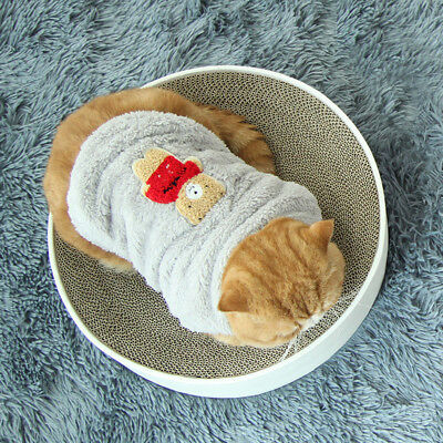 Winter Kitten Outfits Small Doggy Costume Cat Vest Apparel