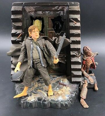 """Lord of the Rings SAMWISE GAMGEE ToyBiz 6"""" Scale Figure Hobbit Moria Mines"""