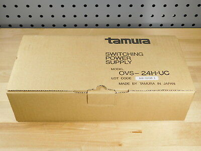 BRAND NEW - Tamura OVS-24H-UC Power Switching Supply IN: 100V-230V OUT: 24VDC
