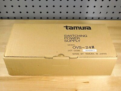 BRAND NEW - Tamura OVS-24H Power Switching Supply IN: 115V-230V OUT: 24VDC 12A