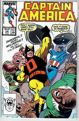 Captain America #328 -- *** Additional items SHIP FREE!~!~!
