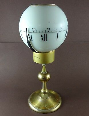 "Vintage Swiss IMHOF Tempus Fugit 8 Days Ball ""Sphere"" Table Clock, Ref. 75/845"