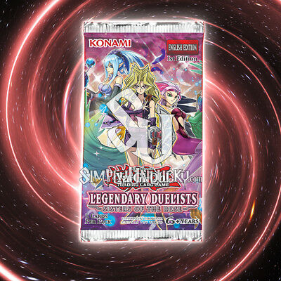 Legendary Duelists: Sisters of the Rose | 1st Edition Booster Pack | YuGiOh