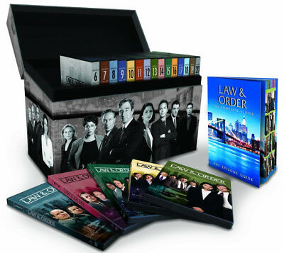 Law and Order: The Complete Seasons 1-20 (DVD 2011, 104-Disc) EXPEDITED SHIPPING