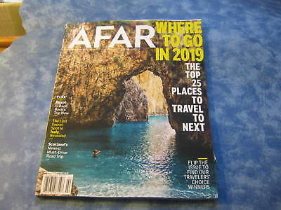 AFAR MAGAZINE January/February 2019 TOP 25 PLACES TO TRAVEL TO NEXT Egypt ITALY