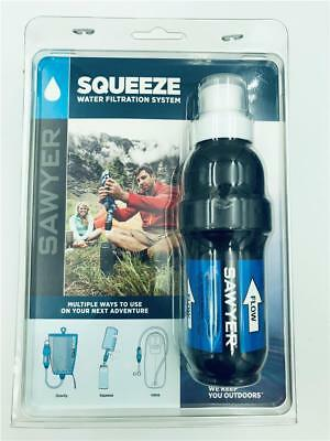 NEW Sawyer Squeeze Water Filtration System +3 Pouches SP131