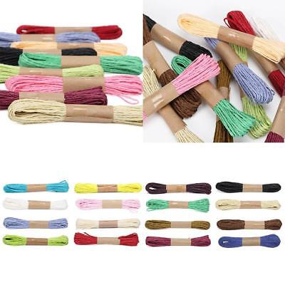 1X Cross Stitch Cotton Sewing Skeins Embroidery Thread Floss Bobbin Multi-Color