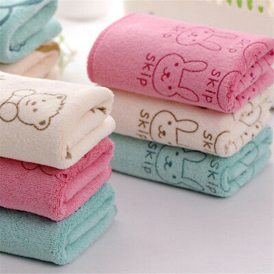2xCute Microfiber Absorbent Drying Bath Beach Towel Baby Kids Cartoon Towels &