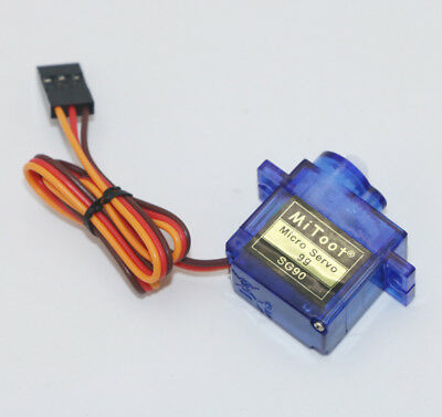 SG90 Mini Gear Micro 9g Servo For RC Robot Helicopter Airplane Car Boat Trex CN