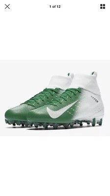 348ded5f4ff6 Nike Vapor Untouchable Pro 3 Football Cleats White Green 917165-103 Mens Size  11