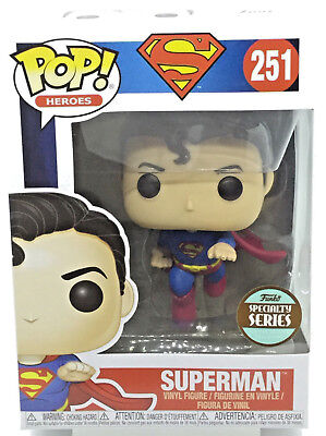 Flying Superman Pop #251 80th Anniversary Funko Specialty Series Limited Edition