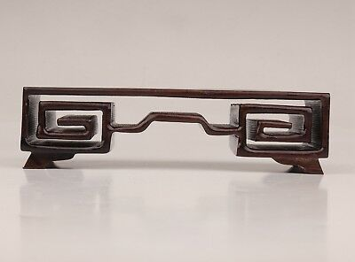 Advanced Wood Snuff Bottle Displays Old Collection Base Bracket Stand
