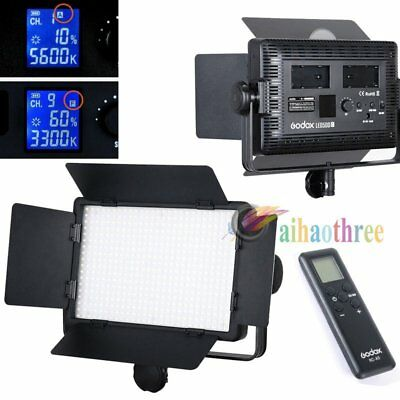 GODOX LED500C Changeable Version 3300K-5600K LED Video Studio Light + Remote【AU】