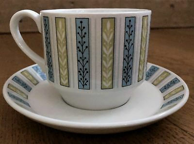 MIDWINTER Fine Shape Everglade CUP AND SAUCER Jessie Tait 132