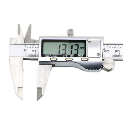 """Stainless Steel Electronic Digital Vernier Caliper Micrometer Guage LCD 6""""150mm"""