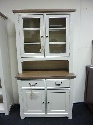 New Chunky French Reclaimed Wood Stone & Ash Dresser Unit *Furniture Store*