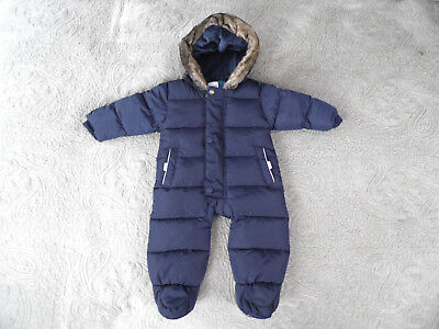 9e5547253027 TED BAKER BABY Boys Size 3-6 months Padded Snowsuit All-in -One Pram ...